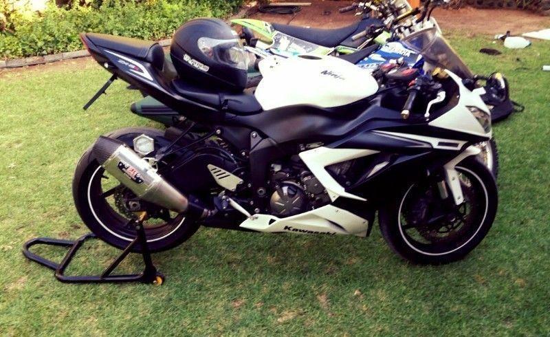 Kawasaki zx