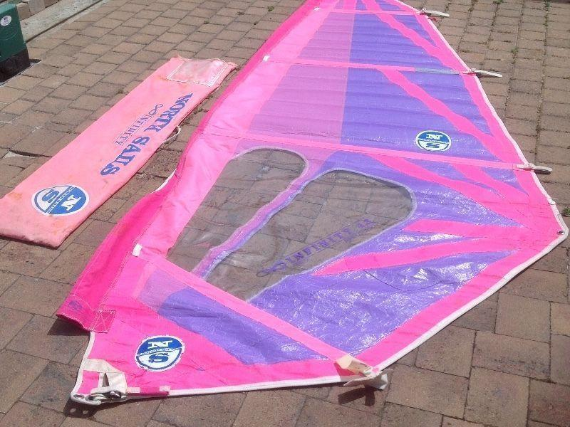 Windsurfer North Sail 4.3 with bag. R500