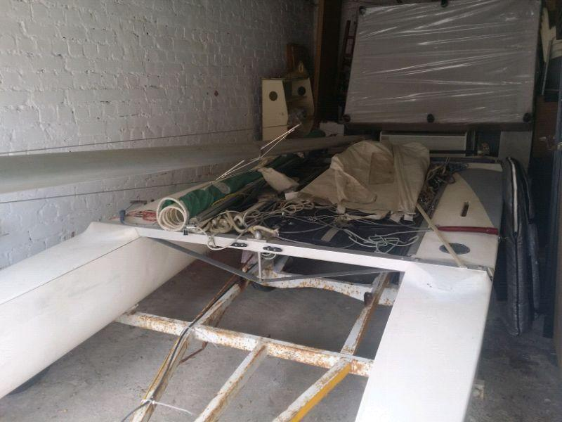 16 foot Mosquito Racing Catamaran for Sale