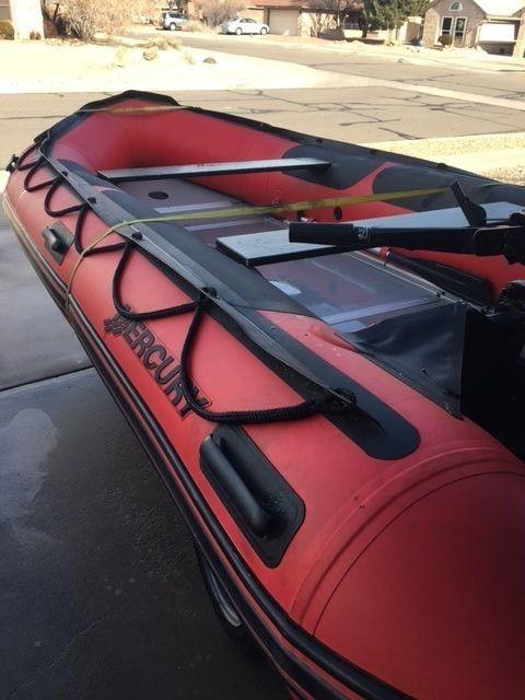 2009 Mercury AA430HD3M inflatable boat for sale
