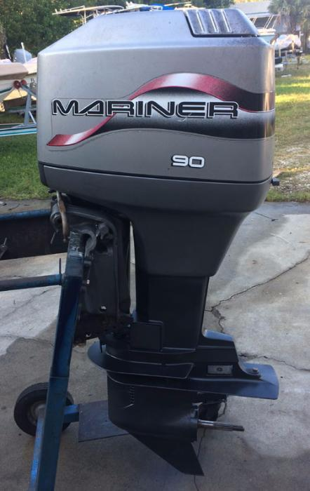 90 hp Mariner Outboard Boat Motor For Sale