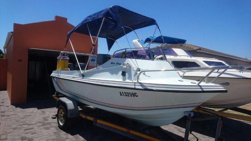 Sea Pro 450 2 x Yamaha 40 T/T