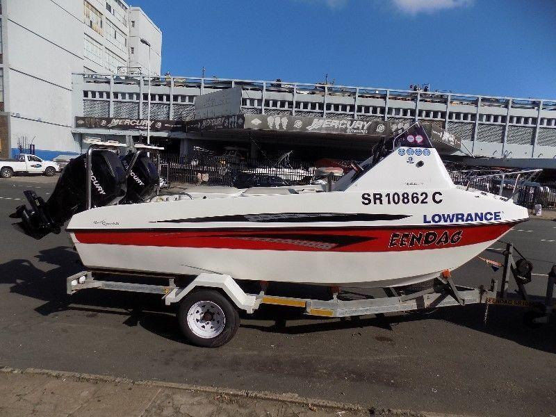 kosi cat 16 ft on trailer 2 x 60 hp mercury 4 strokes bigfoots 126 hours !!!!!!!!!!!!