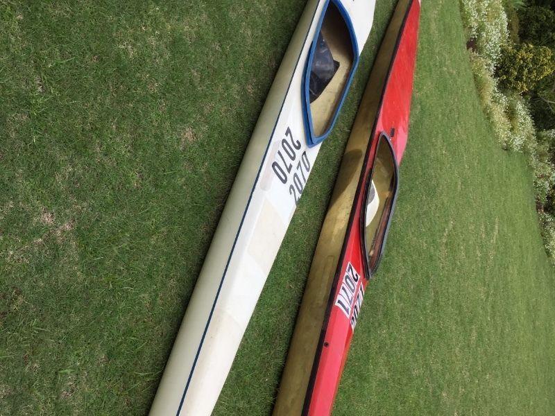 2x K1 canoes