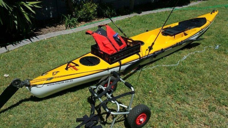 Kayaks for sale used brick7 boats for Used fishing kayaks for sale