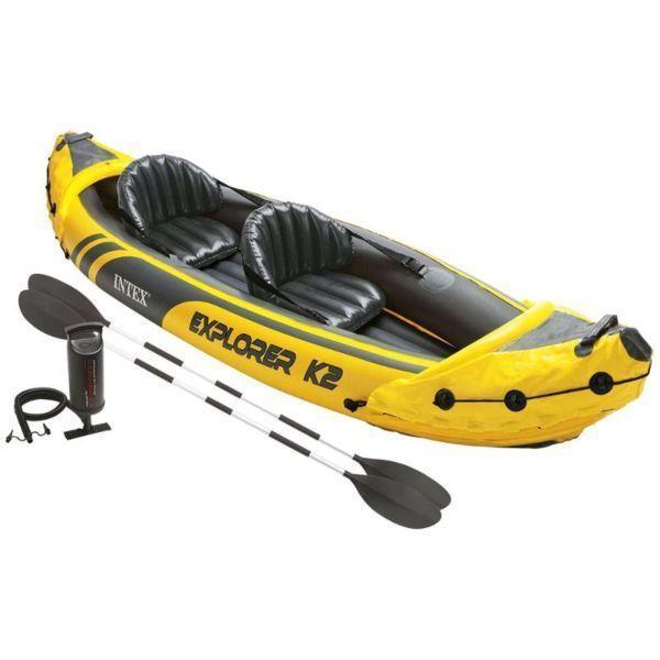 Intex Explorer two man canoe 4 sale