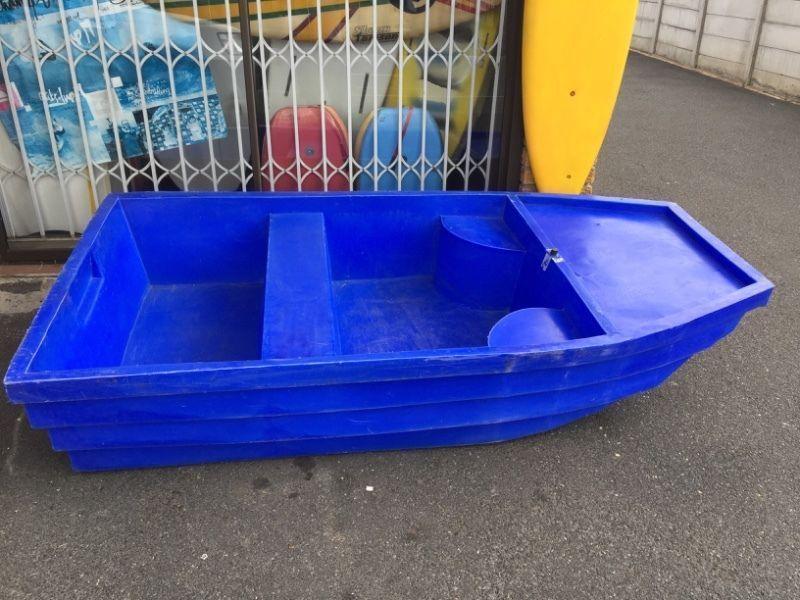 Rowing boat plastic