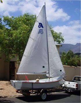 Argie 15 sailing dingy