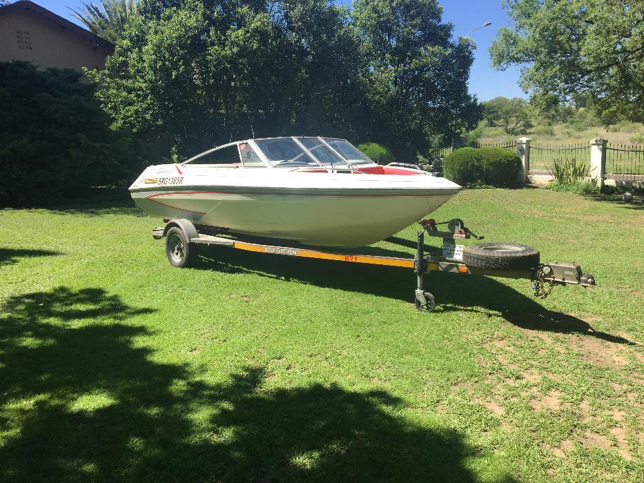 Glastron 1700 4.3L V6 Inboard boat (NON RUNNER)