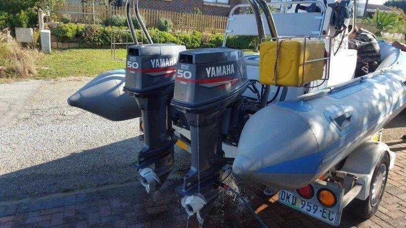 2x50hp Yamaha motors. 2000 models Autolube!!