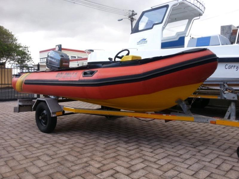 4.2m Gemini Waverider.Fully rigged.1 owner.60hp Mariner t/t