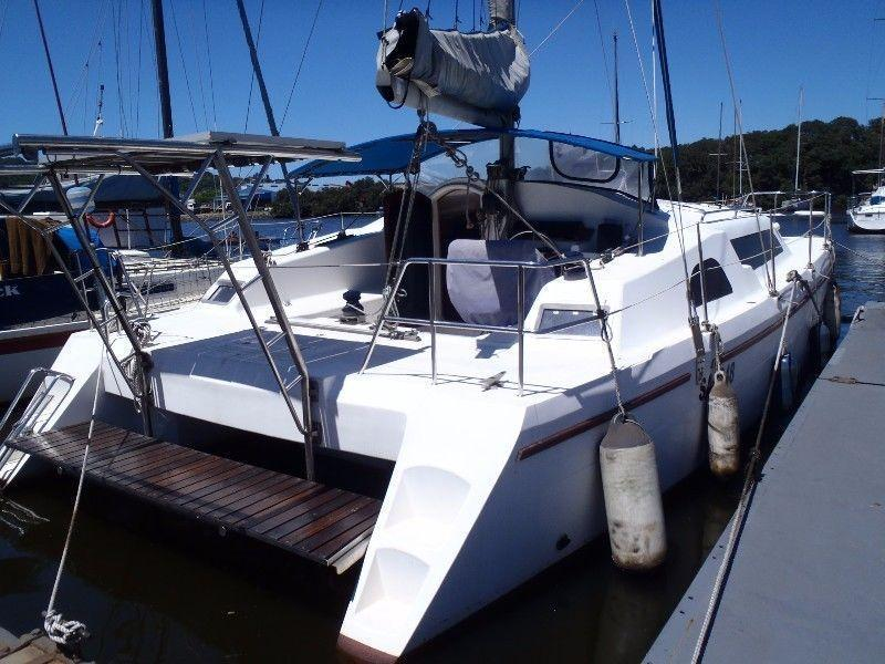 Catamaran/Monohull walk on mooring for sale