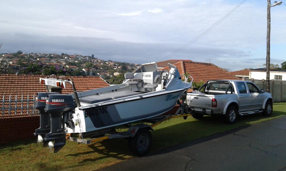 15,6 Dolphin ski boat