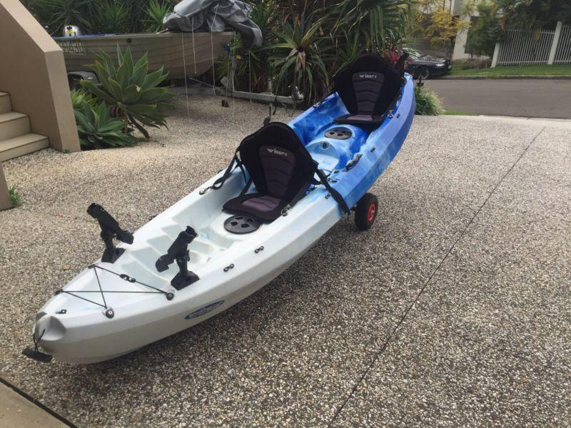 SUMMER SPECIAL: NEW Fluid Synergy Double Kayak