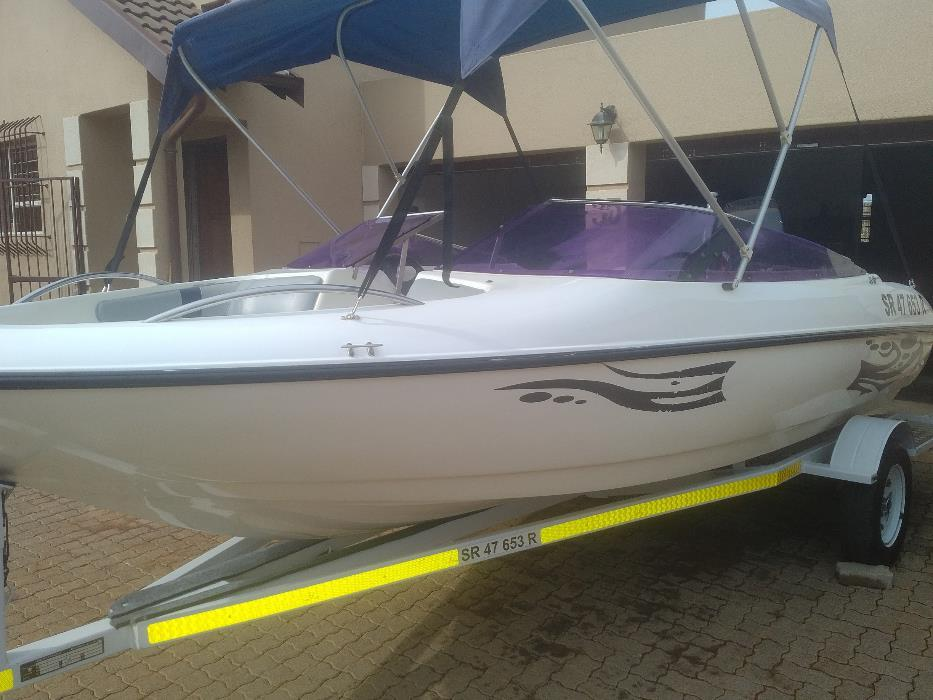 Viking Velocity 17' With 115 Mercury Trim & Tilt