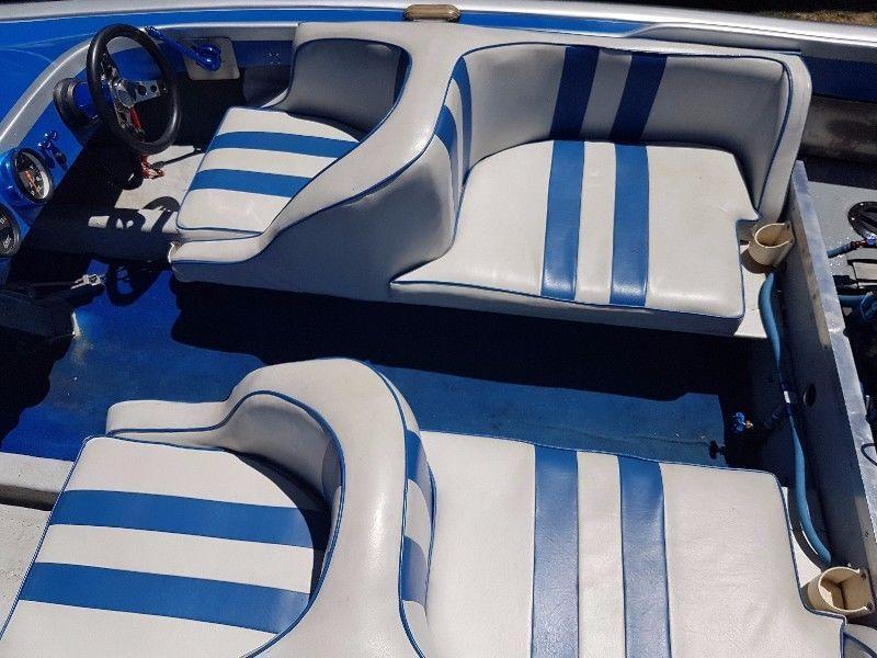 V8 American Restored Vintage Kona Jet Boat
