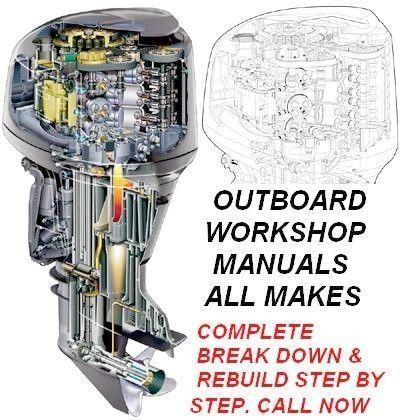 Outboard Motor Workshop Manuals also for motorcycles, jet skis, cars, quad bikes etc