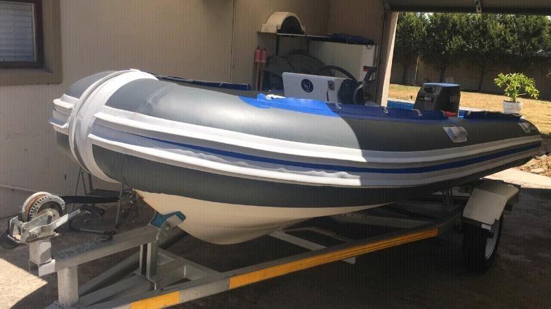 Watercraft 4.7m semi rigid inflatable