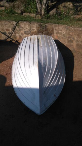 Small Bass boat dinghy