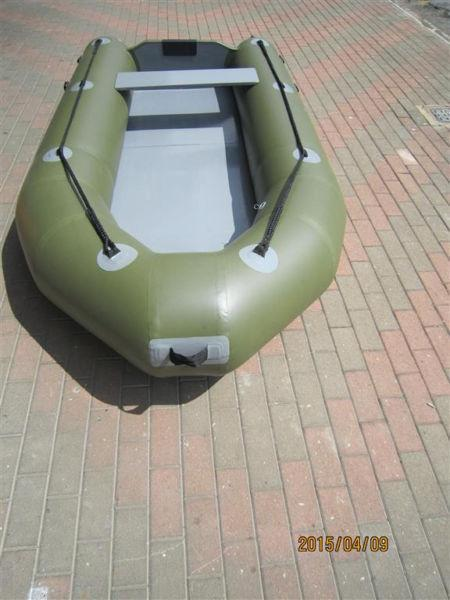 Inflatable rubber duck boat 3.2m perfect for Bass fishing
