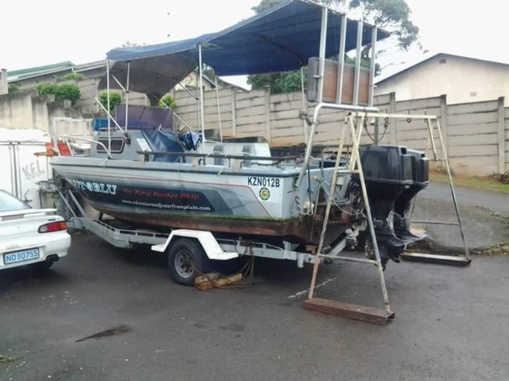Boat motor Suzuki 85hp