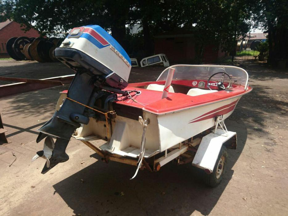 Impala boat trailer and engine