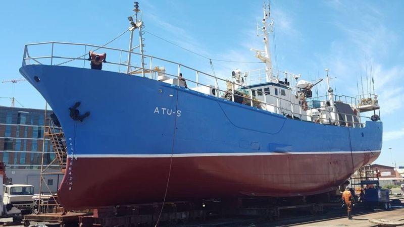 Commercial Longline vessel