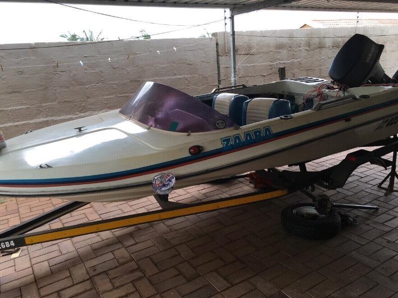 Sabre dam/Bay boat