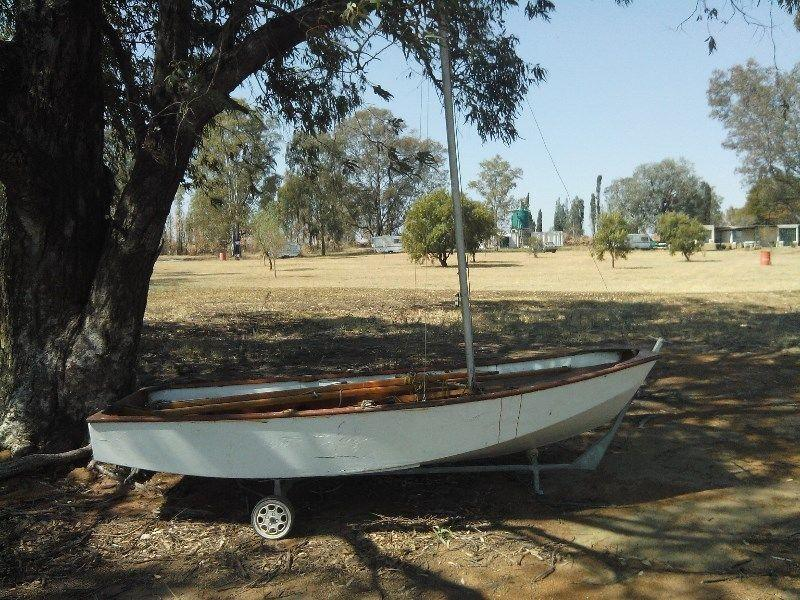 Mirror sailing dinghy for sale