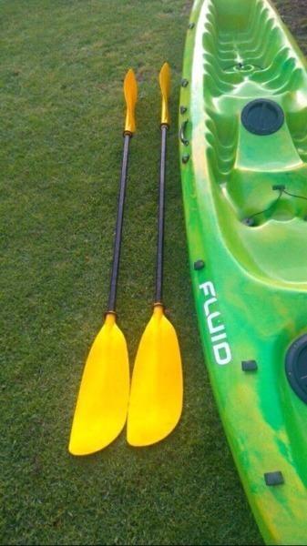Fluid synergy kayak