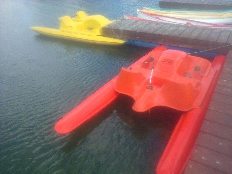 Two seater pedal boats