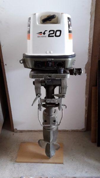 FOR SALE: Johnson 20hp Sea Horse Outboard Motor