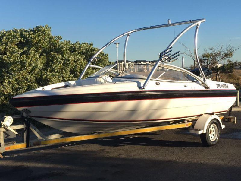 Raven elite 18.5ft 200hp and extras