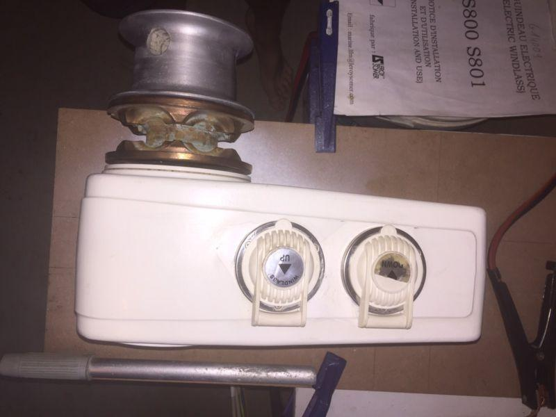 YACHT WINDLASS FOR SALE