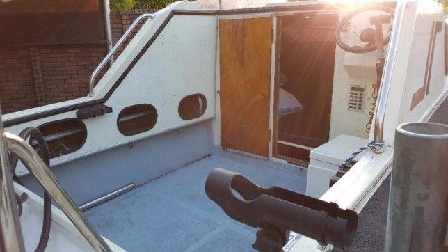 Corvette cabin boat with 115Hp Yamaha