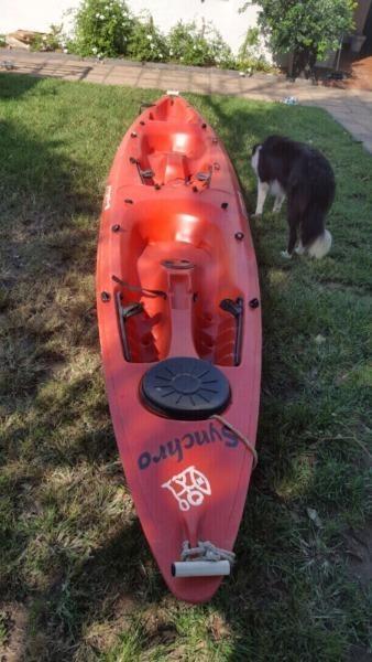 Plastic double kayak