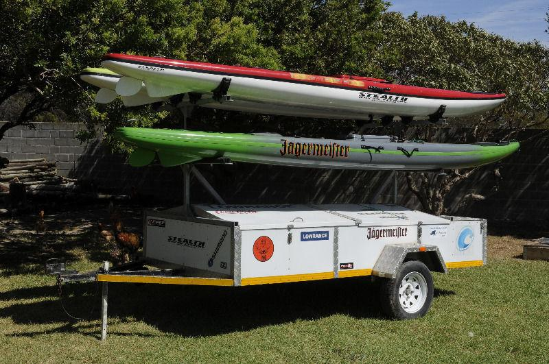 4 birth kayak trailer