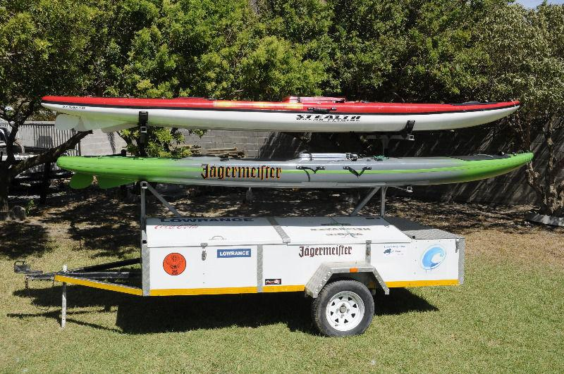 4 birth kayak trailer