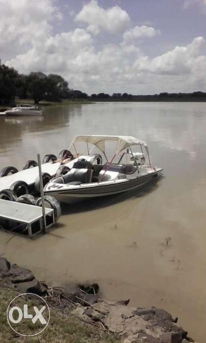 Johnson 140 boat to swap