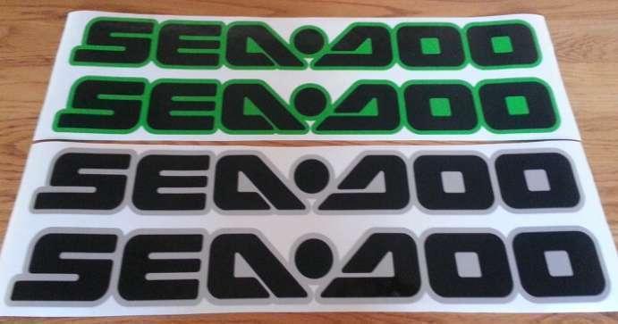 Seadoo Jetski decals stickers graphics