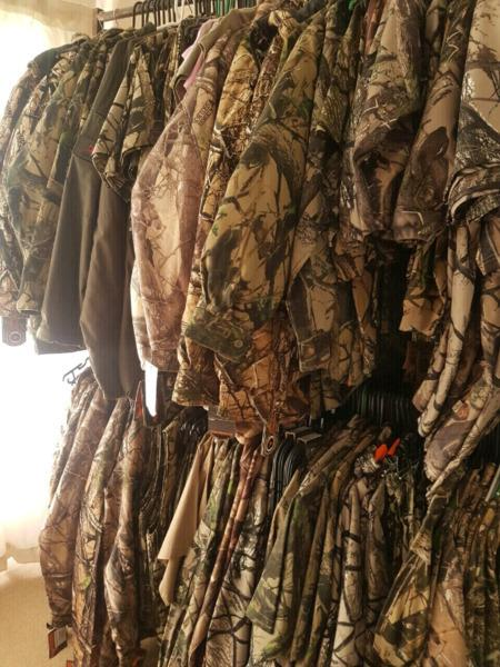 Sniper & Wildebees Camo Clothing