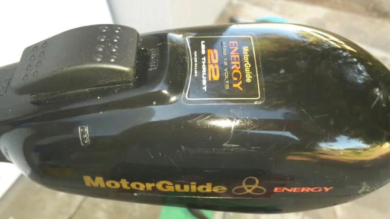 MotorGuide electric motor for sale