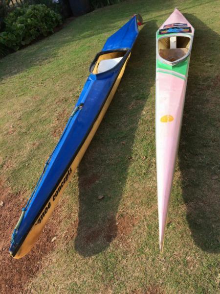 K1 racing canoes