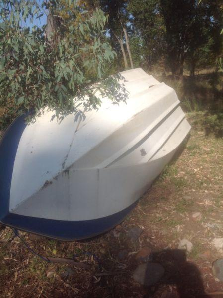 Boat hull for sale