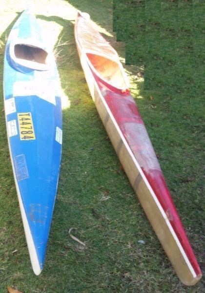 Canoe x 2