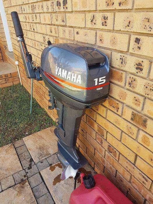 15 hp Yamaha outboard motor for sale
