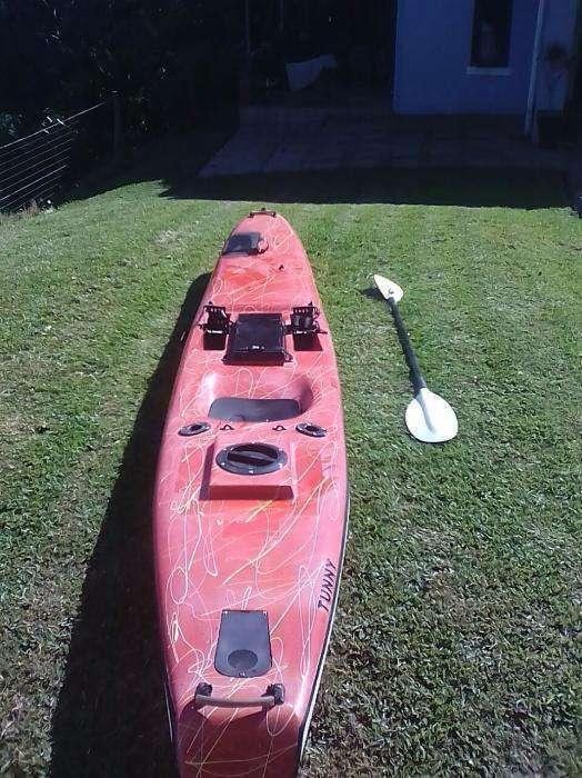 Erics Tunny Fishing Kayak