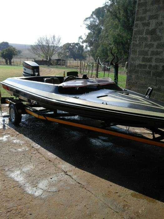 Motorboat Yamaha 85 Hp
