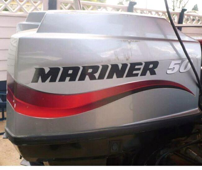 2x50Hp Mariners