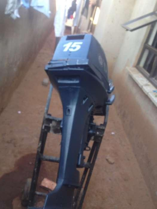 Selling used 15hp Yamaha outboard